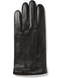Burberry - Cashmerelined Leather Gloves - Lyst