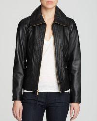 MICHAEL Michael Kors Missy Wing Leather Jacket - Lyst