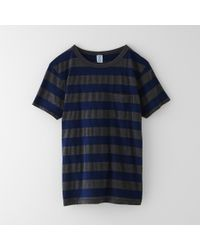 Velva Sheen Big Stripe Pocket Tee - Lyst
