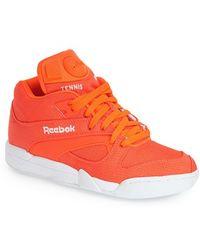 Reebok 'Court Victory Pump Tech' Sneaker - Lyst