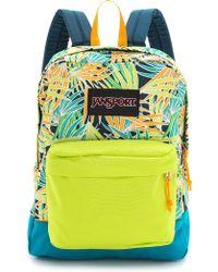 Jansport - Black Label Superbreak Backpack - Lime Punch The Palms - Lyst