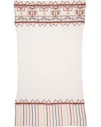 Antik Batik Brian Scarf White - Lyst