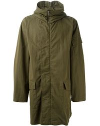 McQ by Alexander McQueen Military Hooded Parka - Lyst