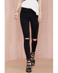 Nasty Gal Denim - The Renegade Skinny - Lyst
