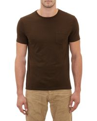 Ralph Lauren Black Label Pocket Tee - Lyst