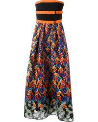Peter Pilotto Multicolor Freya Dress - Lyst