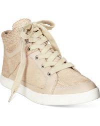 CALVIN KLEIN 205W39NYC - Lyda High Top Sneakers - Lyst