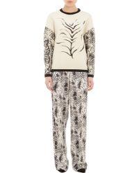 Emanuel Ungaro Tiger & Snake-Print Sweater black - Lyst