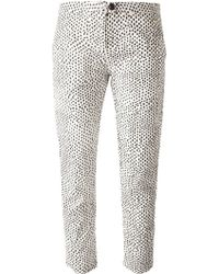 Woolrich Cropped Trousers - Lyst