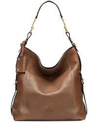 Gucci Harness Leather Hobo Bag - Lyst