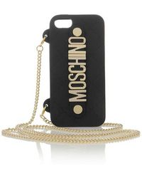 Moschino Iphone 5 Cover - Lyst