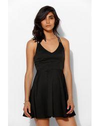 Sparkle & Fade - Claspback Cutout Skater Dress - Lyst