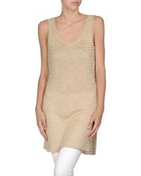 Ralph Lauren Black Label Sleeveless Sweater - Lyst