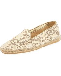 Cole Haan Palermo Lace Espadrille Loafers - Lyst