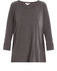 LNA Colette Jersey Top - Lyst