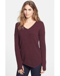 Feel The Piece Asymmetric Cashmere Sweater - Lyst
