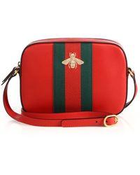Gucci | Leather Shoulder Bag | Lyst