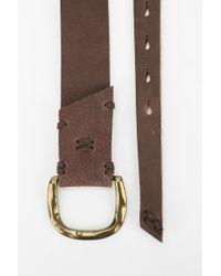 49 Square Miles - Tamalpais Leather Belt - Lyst