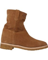 Barneys New York Shearling-lined Ankle Boots - Lyst