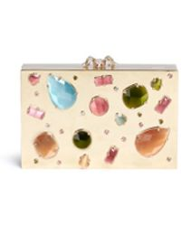 Charlotte Olympia | 'andy's Inheritance' Jewel Appliqué Box Clutch | Lyst