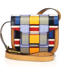 Tory Burch Multicolor Mixed-Pattern Crossbody Bag - Lyst