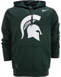 Nike Mens Michigan State Spartans Warp Performance Hoodie - Lyst