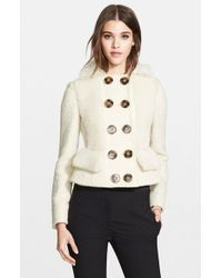 Burberry Prorsum Genuine Shearling Jacket - Lyst