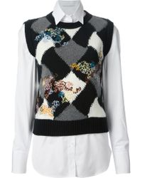 Ermanno Scervino Layered Shirt - Lyst