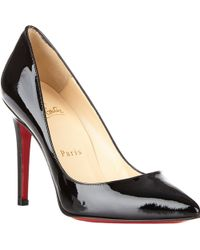 Christian Louboutin Black Pigalle Pumps - Lyst
