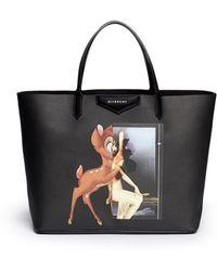 Givenchy Antigona' Large Bambi Print Tote - Lyst
