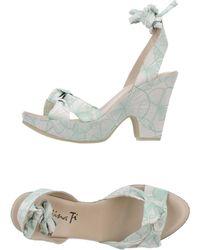 Kristina Ti - Platform Sandals - Lyst