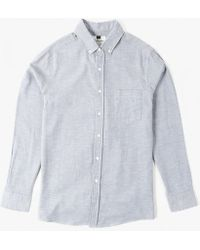 Topman   L/s Twill Shirt   Lyst