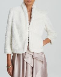 Cynthia Steffe Jacket - Faux Fur Chubbie - Lyst