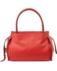 Chloé Dree Pebbled Small Satchel Bag - Lyst