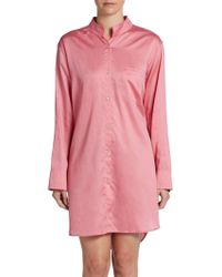 Donna Karan New York Cotton Sleepshirt - Lyst