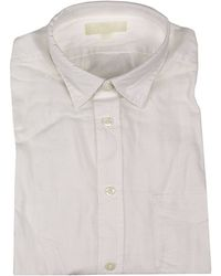 Diesel Shirt S-Xenir Brushed Cotton white - Lyst