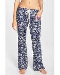 Lucky Brand | 'boho' Print Lounge Pants | Lyst