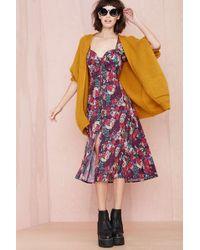 Nasty Gal Multicolor Giovanna Dress - Lyst