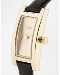 Oasis - Rectangle Smooth Face Watch - Lyst