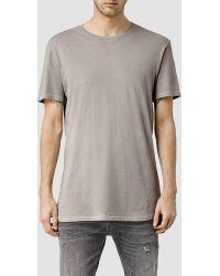 AllSaints | Extend Crew T-shirt | Lyst