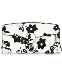 Ralph Lauren Collection - Ricky Printed Leather Clutch - Lyst