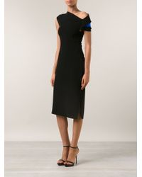 Altuzarra Neck Detail Dress - Lyst
