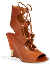 Chloé Women'S 'Eliza' Wedge Sandal - Lyst