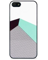Blissfulcase - Color Block Mint Stripe Iphone 5/5s Case - Lyst