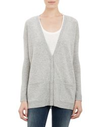 Barneys New York Snapfront Cardigan - Lyst