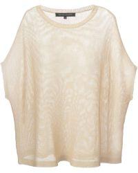 Ralph Lauren Black Label Loose Knit Sweater - Lyst