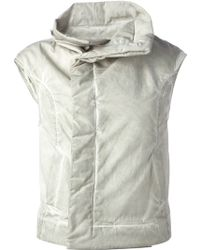 DRKSHDW by Rick Owens Sleeveless Biker Jacket - Lyst