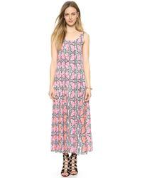 Sea Butterfly Maxi Dress - Multi - Lyst