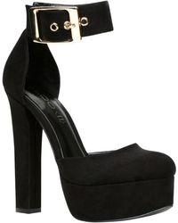 Aldo Keusch Platform Court Shoes - Lyst
