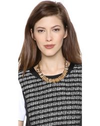 Lee Angel - Crystal Stone Necklace - Lyst